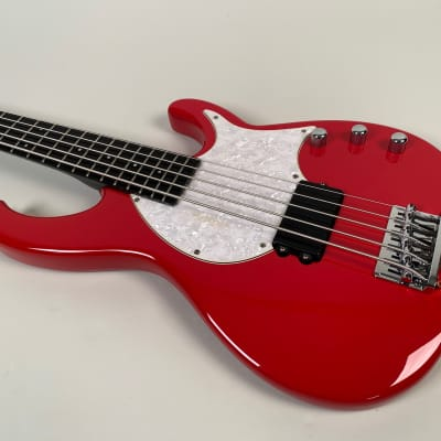 Modulus Flea Bass FB5 1997 Red for sale