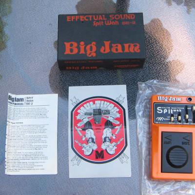 Multivox Big Jam SE-2 Spit Wah Effect Pedal NOS / NIB for sale