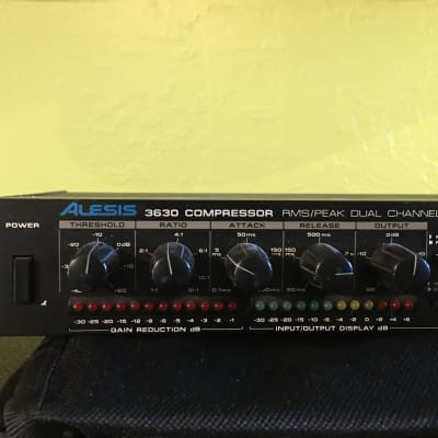 Alesis 3630 Dual-Channel Compressor / Limiter with Gate