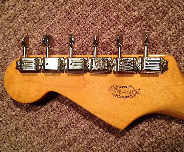 vintage tuners Fender style