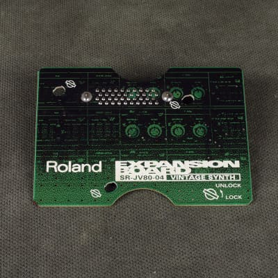 Roland SR-JV80 Expansion Board - 04 Vintage Synth - 2nd Hand