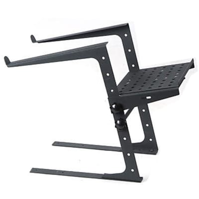 ProX Portable Laptop Stand W/Adjustable Shelf BLACK