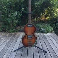 Vintage Klira Twen Star 356 Violin Bass 1960s Sunburst for sale