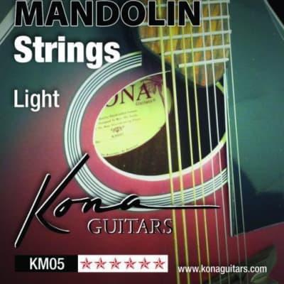 Kona KM05 Mandolin Strings Light for sale