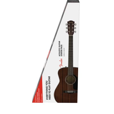 Fender CC-60S V2 Mahogany Acoustic Guitar Pack for sale