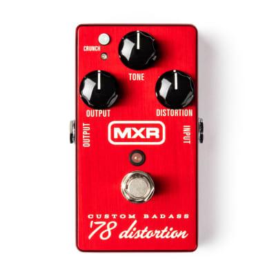 MXR M78 Custom Badass '78 Distortion Guitar Effects Pedal - New