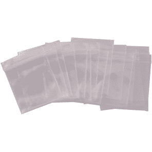 """Seismic Audio SA-B11 1x1"""" 2 Mil Reclosable Poly Storage Bags (200-Pack)"""