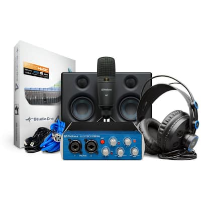 PreSonus AudioBox 96 Ultimate USB Audio Interface Bundle
