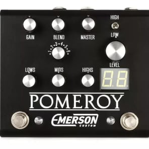 Emerson Pomeroy Boost/Overdrive/Distortion