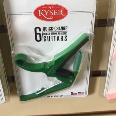 Kyser KG6EG Quick-Change 6-String Guitar Capo