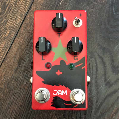 Used Jam Pedals Red Muck Mk 2 Fuzz Guitar Effect Pedal