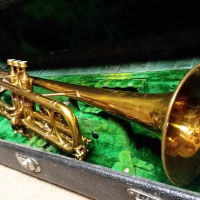 H.N.  White King Liberty  c.1914 Vintage Professional Trumpet In Nearly Mint Condition