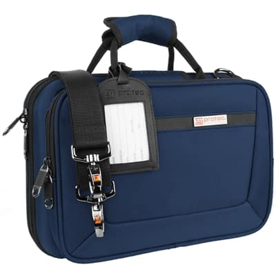 Protec PB307BX Blue Slimline clarinet case