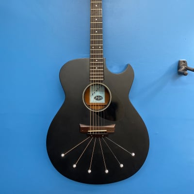 Babicz Identity Spider acoustic guitar black - PLEKed! for sale