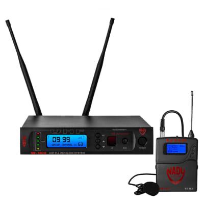 Nady W-1KU LT True Diversity 1000-Channel UHF Wireless Lavalier Microphone System