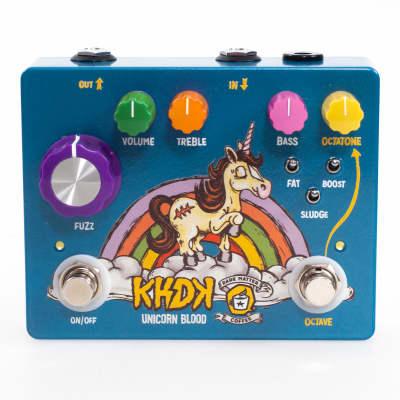 KHDK Electronics Unicorn Blood Limited Edition Octave Fuzz 2018