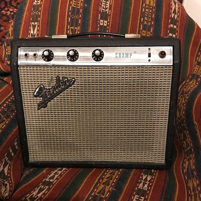 Fender Champ 1972 Silverface Amp | Pangolin's Gear Depot ...