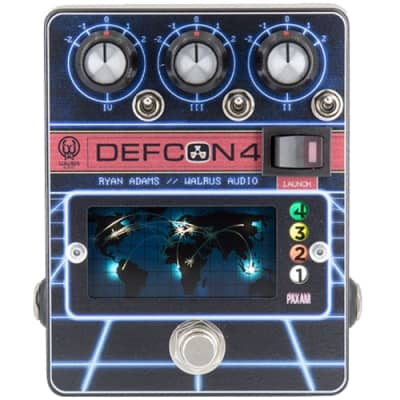Walrus Audio Defcon4 Preamp/EQ/Boost Pedal for sale