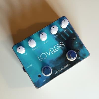 Noisemaker Effects Loveless Dual Fuzz and Reverb Effect Pedal 2021 Blue