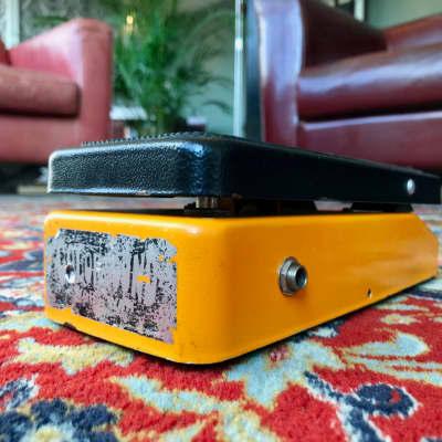 vintage mid 1970's Colorsound Wah Wah Orange Sola Sound London UK wahwah for sale