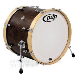 "PDP PDCC1622KKTN Concept Maple Classic Series 16x22"" Bass Drum"