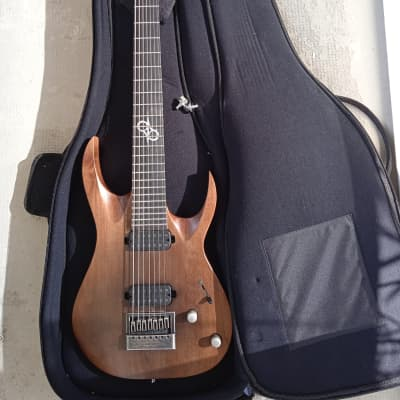 Solar Guitars A1.7 LTD Artist Aged Brown (Nazgul/Sentient Upgrade) for sale