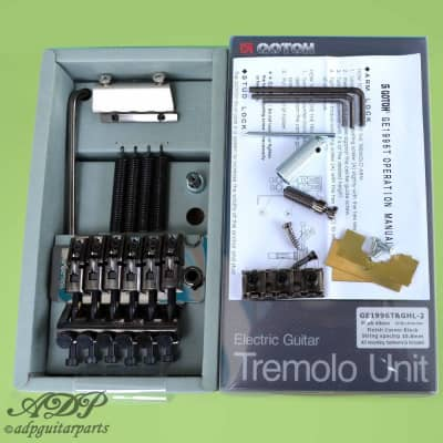 Cordier Tremolo Strat Floyd Rose Gotoh Cosmo Black with Locknut GE1996T F003CK for sale