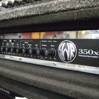 SWR 350X W/Rack case Black/ Chrome for sale