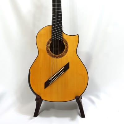 Greenfield Changui (7-String Classical Charlie Hunter) Spruce/Koa for sale