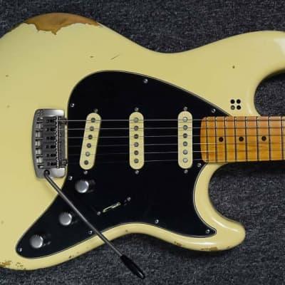 Sandberg California ST II 6-String Guitar, Hardcore-Aged Creme/Maple Fingerboard. IN STOCK
