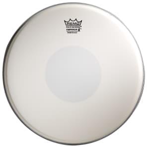 "Remo Emperor X Coated Bottom Black Dot Snare Drum Head 12"""