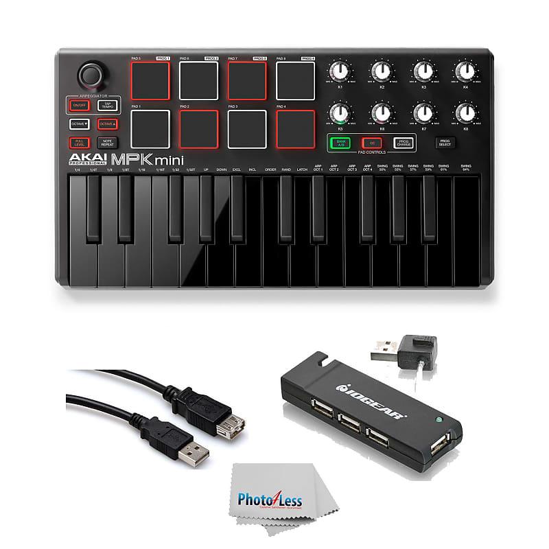 Akai MPK Mini MK2 25-Key USB MIDI Keyboard Controller