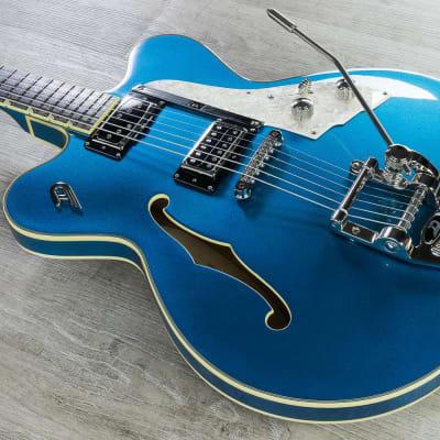 Duesenberg Guitars Fullerton Elite Electric Guitar, Catalina Blue