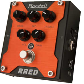 Randall Rg Red Channel Pedal Overdrive Pedal for sale