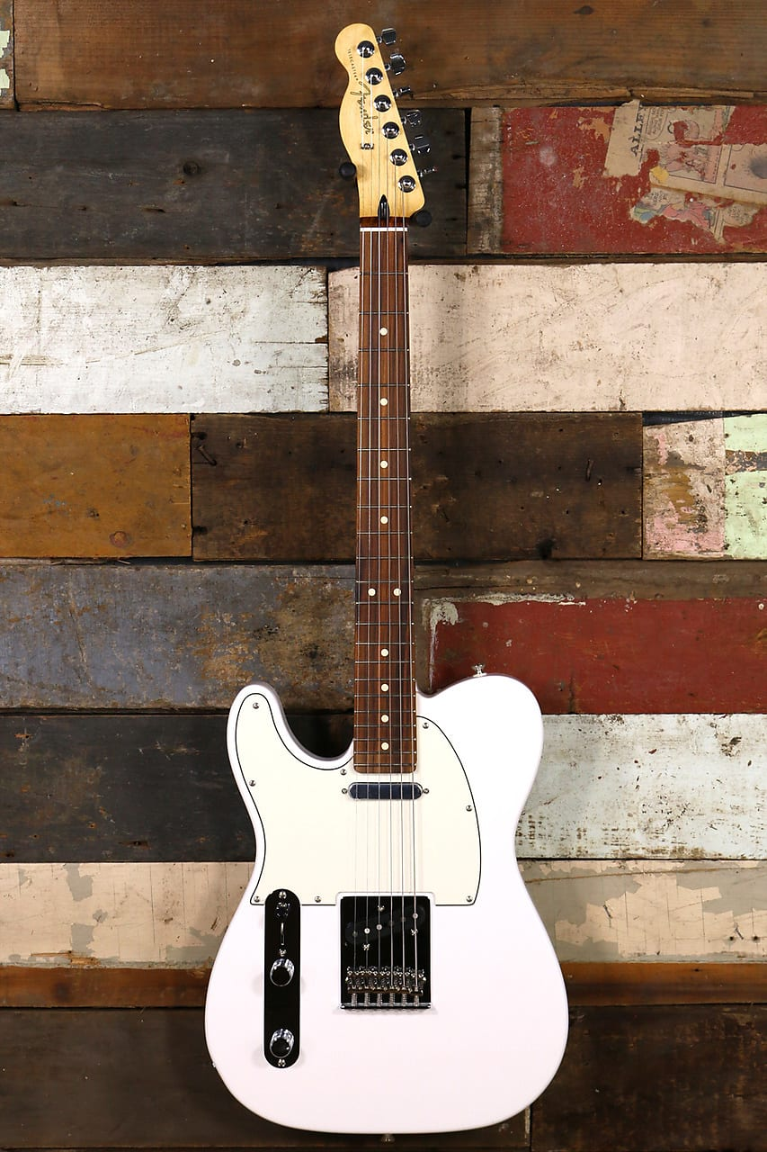 Fender Player Telecaster Left Handed Polar White Pao Ferro
