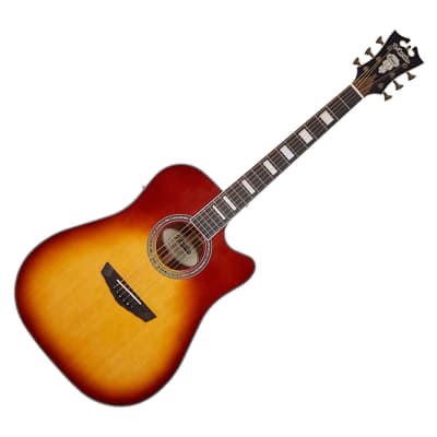 D'angelico Premier Bowery - Iced Tea Burst for sale