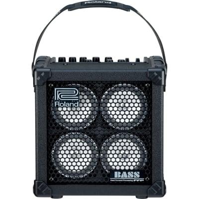 """Roland Micro Cube Bass RX 2x2.5-Watt 4x4"""" Bass Combo"""