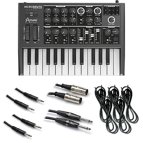 arturia microbrute analog synthesizer control voltage kit 1 reverb. Black Bedroom Furniture Sets. Home Design Ideas