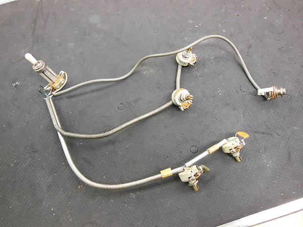 Harmony Rocket Wiring Harness Vintage | Don's Pawn Shop on