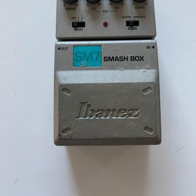 Ibanez SM7 Tone-Lok Smash Box Distortion Overdrive Rare Guitar Effect Pedal