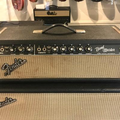 Vintage 1966 Fender Bandmaster Head