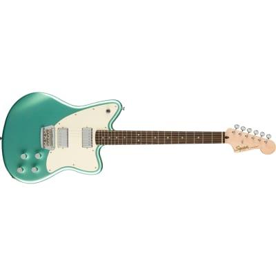 Squier (Fender) Paranormal Toronado Guitar, Laurel Fretboard, Mystic Seafoam
