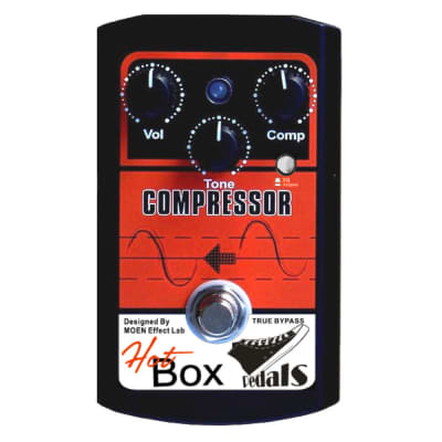 Hot Box Pedals HB-CP COMPRESSOR Analog Guitar Effect Pedal True Bypass Ships Free