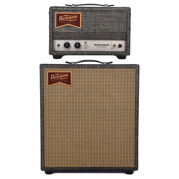 benson monarch 15w guitar amp head 1x12 cabinet reverb. Black Bedroom Furniture Sets. Home Design Ideas