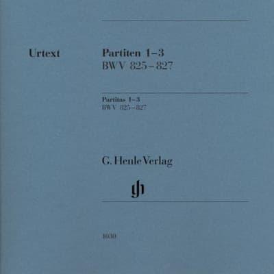 Partitas 1-3 BWV 825 - 827 - HN1030 / LIBRI MUSICALI