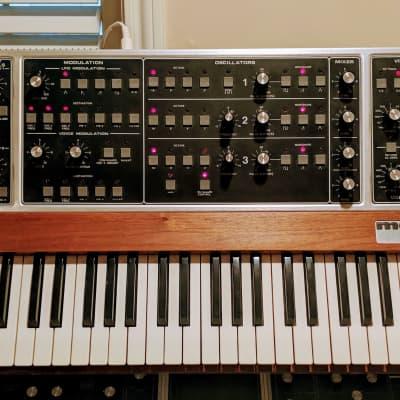 Moog Memorymoog w/Kenton and hard case, professionally refurbished