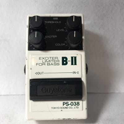 Free shipping Guyatone PS-038 Bass,Guitar Exciter & Limiter MIJ with function check video for sale