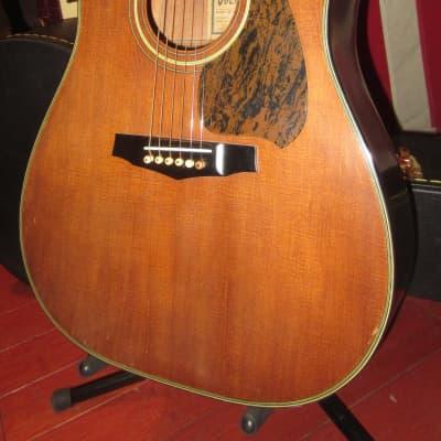 Vintage 1979 Ibanez S300 SV Vintage Dreadnought Acoustic Natural for sale