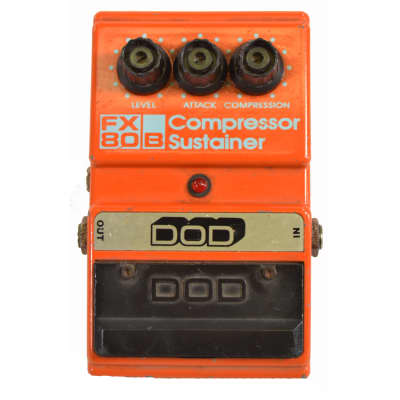 DOD FX80B - Compression/Sustainer - Guitar Effects Pedal - Used for sale
