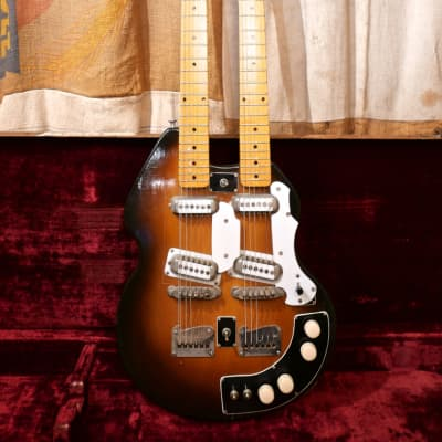 Stratosphere Doubleneck 1957 Sunburst for sale